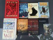 8 Verschiedene Historische Romane zvk