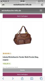 Lässig Wickeltasche Tender Multi Pocket