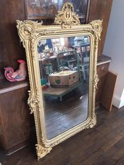 Antiker Spiegel Holz Top
