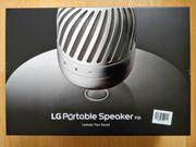 LG PJ9 Portable Speaker schwebender