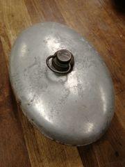 Wärmflasche aus Metall