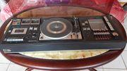Planet Stereoanlage Sammlerstück mit Lautsprecherboxen