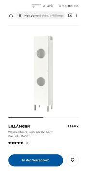 Ikea Wäscheschrank Lillangen