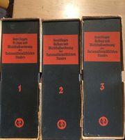 Grundlagen Wirtschaftsordnung Nationalsozialismus Band 1-3