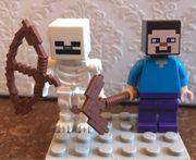 Minecraft Lego Figuren Steve und