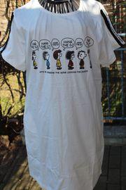 neues mit Schild cremefarbenes T-Shirt