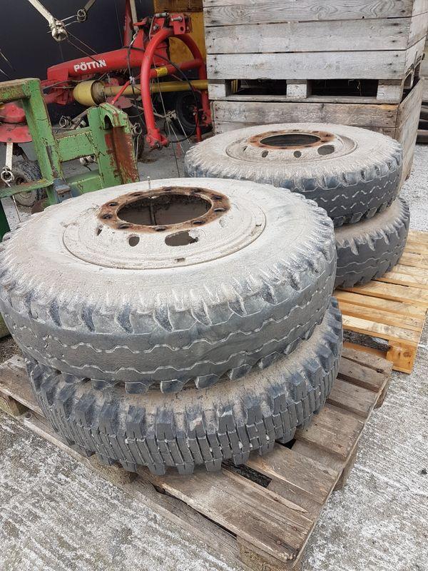 9 00-20 Reifen mit 10