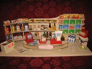 Kaufladen Zubehör 50er Jahre Puppenhaus-Puppenstube