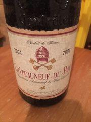 Wein Chateauneuf-du-Pape 2004 zu verkaufen