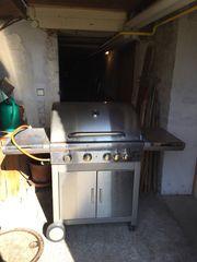 Edelstahl Gas Grill