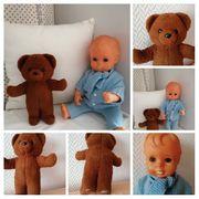 Püppchen und Teddy Bärenmarke