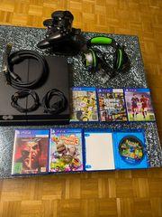Playstation 4 mit vollem Zubehör