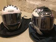 2 Motorradhelme wie neu