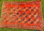 Orientteppich Nomadenteppich um 1800 T083