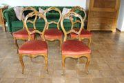 Stühle 5 Medaillonstühle Buche 1