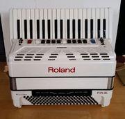 Akkordeon Roland FR3s Weiß