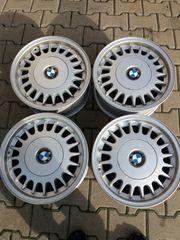4x BMW Alufelgen für e32
