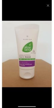 Aloe Vera Feuchtigkeits- Gesichtsmaske