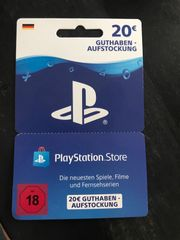 PlayStation Guthaben Code