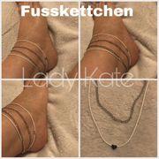 sexy Fussschmuck Fusskettchen