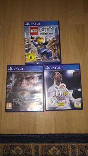 3 PS4 SPIELE TOP ZUSTAND