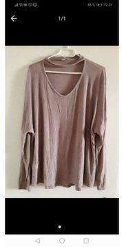 Choker Top Gr XL