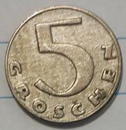 5 Groschen 1931