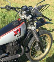 Yamaha XT 500 Enduro - Top Zustand