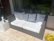 Korb Garten Lounge 2x 90x90cm