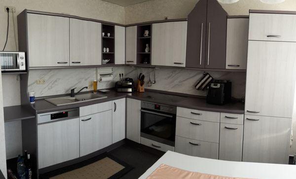 Küche-Alno gebraucht L-Form, variable Länge + passende Extra-Zeile + ...