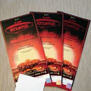 3x Rock im Park Tickets