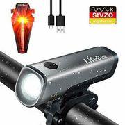 LED Fahrradlicht Set StVZO Zugelassen