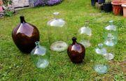 Verkaufe hier 8 schöne Weinballons