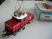Märklin Elektrische Rangierlokomotive 3001 H0