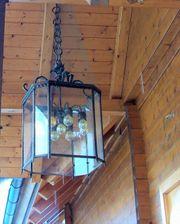 Außen-Innen- Lampe handgeschmiedet aus massiver