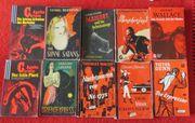 10 Krimi Taschenbücher v Simenon