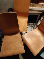 3 Holzstühle