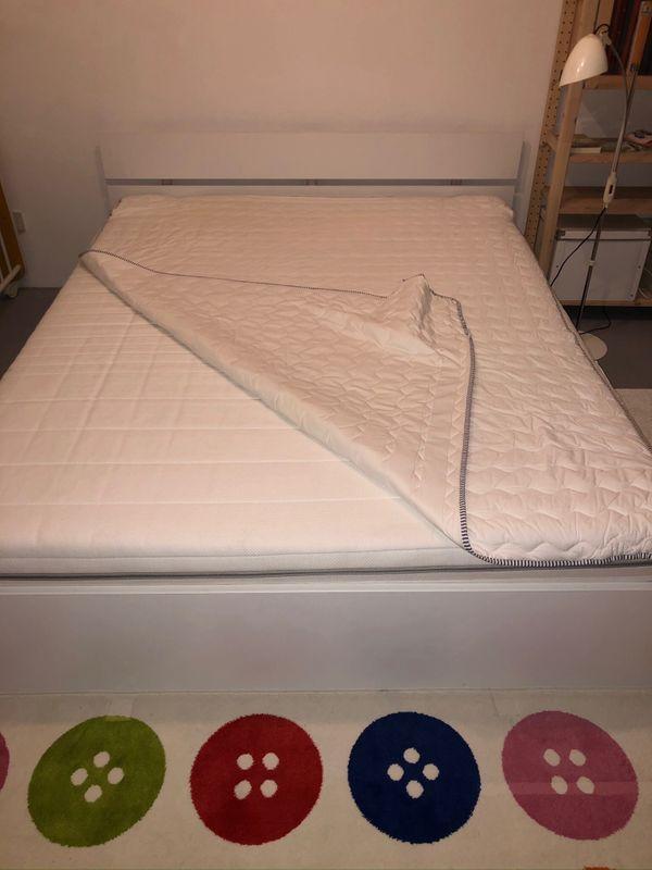 Bett 160 X 200 Weiß Mit Rost Und Matratze Jetzt Um 10