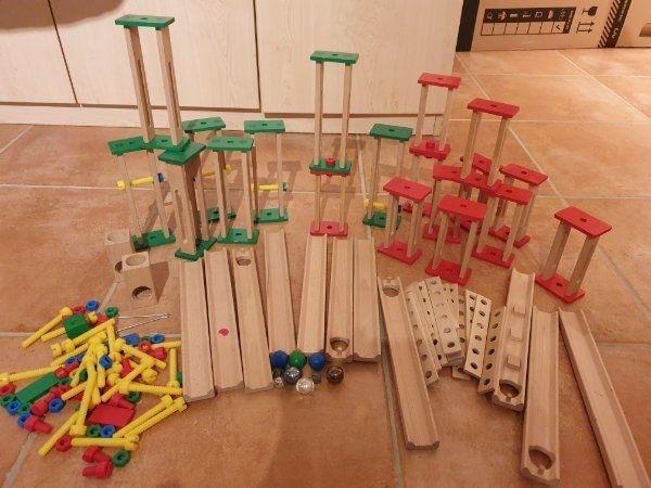 Kugelbahn Holz Heros Constructor