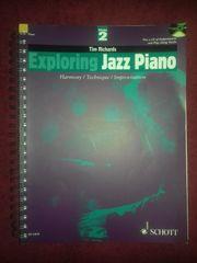 Klaviernoten-Klavierschule Exploring Jazz Piano -Tim