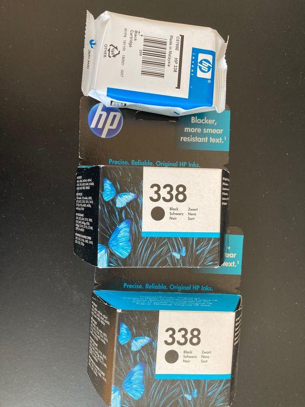 Druckerpatronen schwarz original HP 338