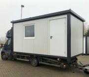 Bürocontainer Wohncontainer Gartenhaus 5x2 40