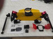 Unterwasserkamera Action Pro X9 inkl