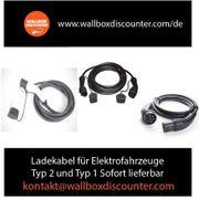 Ladekabel für Elektrofahrzeuge Typ 2