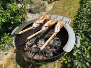 Steckerlfisch Grillaufsatz Fisch Halter Kugelgrill