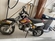 YCF Start F125 pitbike