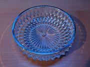 Glas Fruchtschale Bleikristall