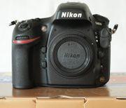 Nikon D800 absolut neuwertig