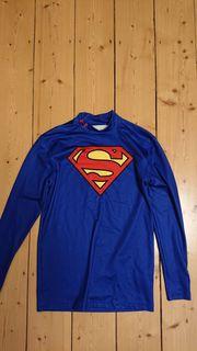 Verkaufe Compression Langarmshirt Superman Print