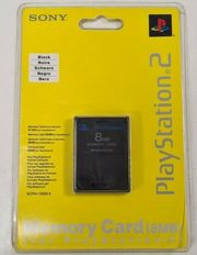Official Playstation 2 Memory Card